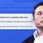 Der Gründer von SpaceX und Leiter von Tesla Elon Mask schloss sich dem #DeleteFacebook-Flash-Mob an